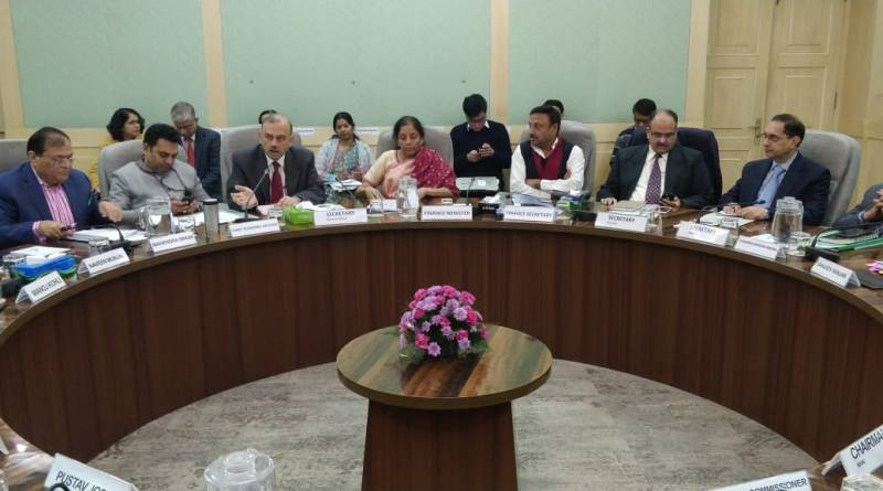 Sitharaman meets reps of TERI, SIAM, ISB, Hero EVs & more; Talks infrastructure, energy & climate change