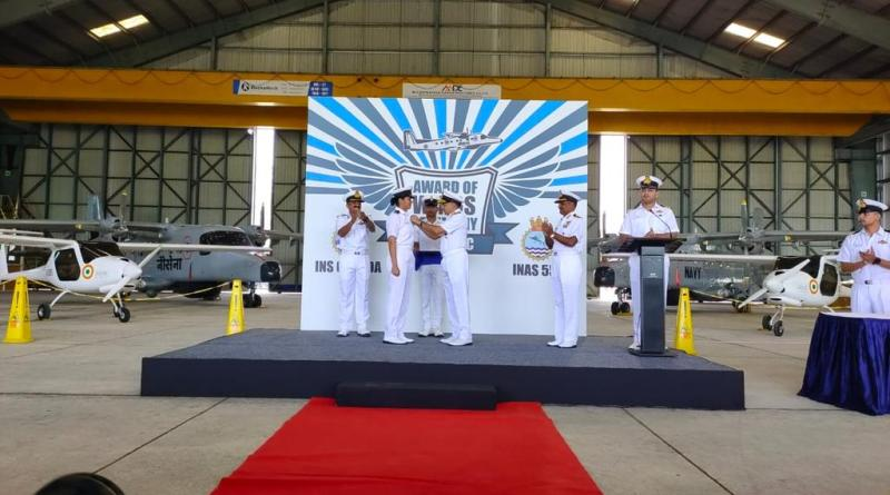 SLt Shivangi is Indian Navys first woman pilot will train in maritime recon at IANS 550 | Indus Dictum