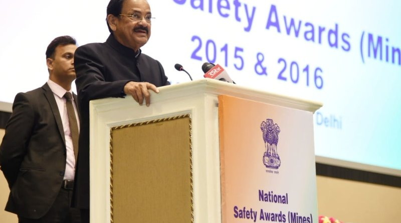 VP Naidu urges mining industry to prioritize workers' health & welfare at Nat'l Safety Awards