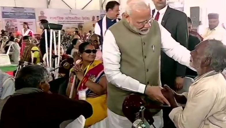 Govt recognises rights, encourages skills of differently-abled persons: PM Modi