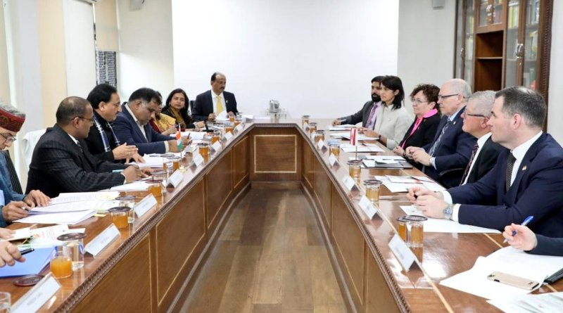 HRD Minister Pokhriyal meets Canadian delegates; Talks education, SPARC, GIAN