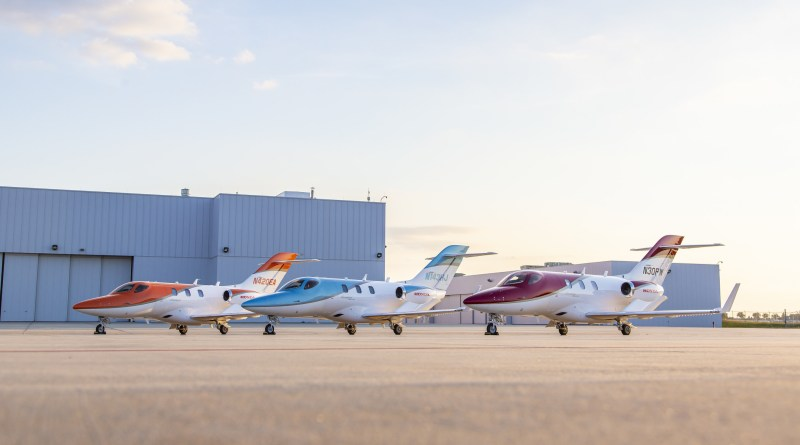 HondaJet is most delivered aircraft in its class 3 years in a row