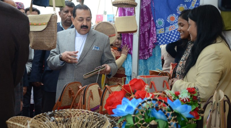 'Hunar Haat' allows artisans, entrepreneurs to couple creativity with livelihood: Jitendra Singh