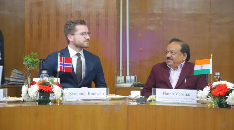 India & Norway partner on blue economy for sustainable development, ocean mgmt & research