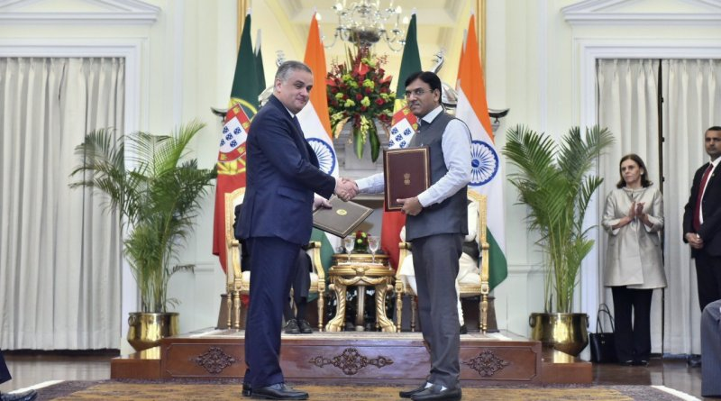 India & Portugal sign Agreement on maritime transport, ports: Shipping Ministry