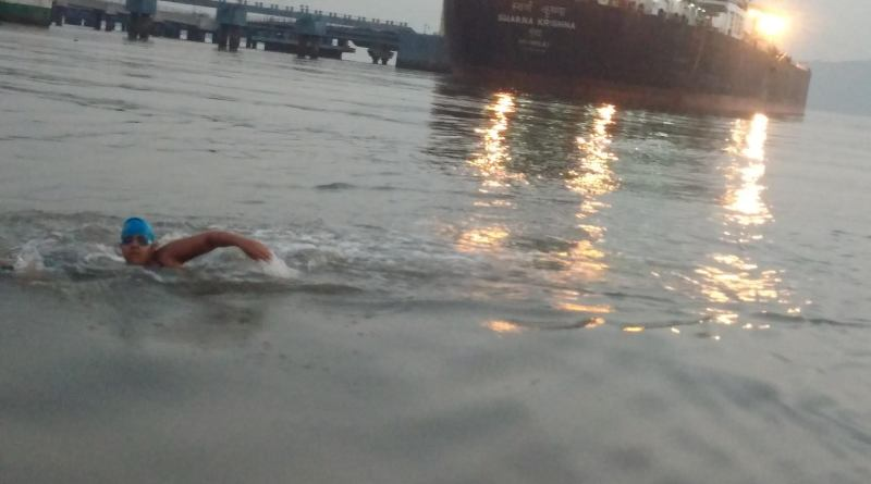 Jiya Rai, Naval special child with autism, swims 14 km in open water, sets world record