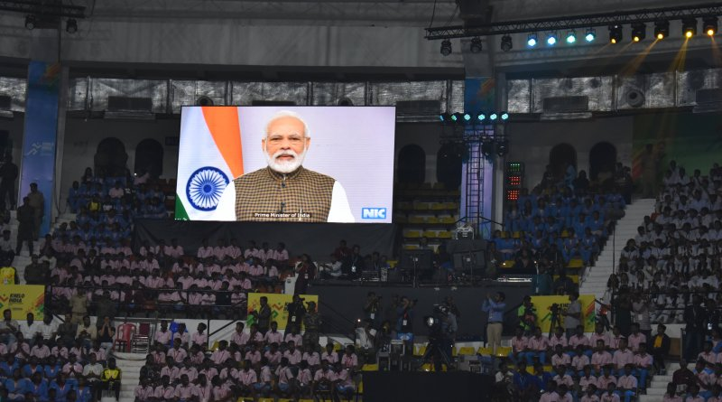 Khelo India Univ Games: PM Modi inaugurates, urges to win 200 gold medals at Tokyo Olympics