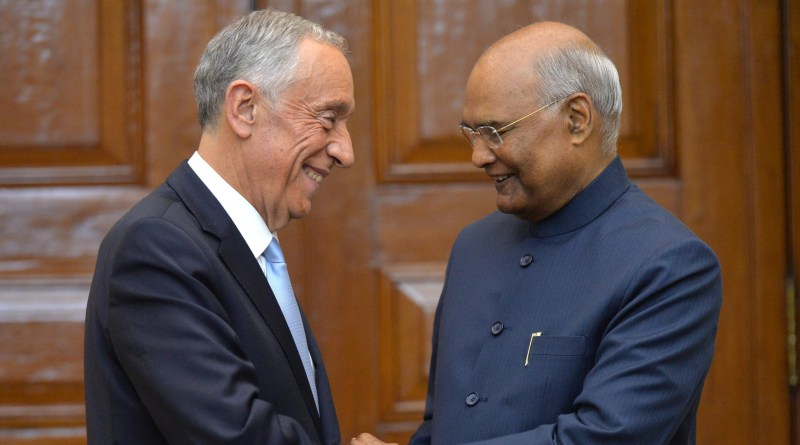 Kovind hosts Portuguese President; India, Portugal exchange 14 Agreements & MoUs