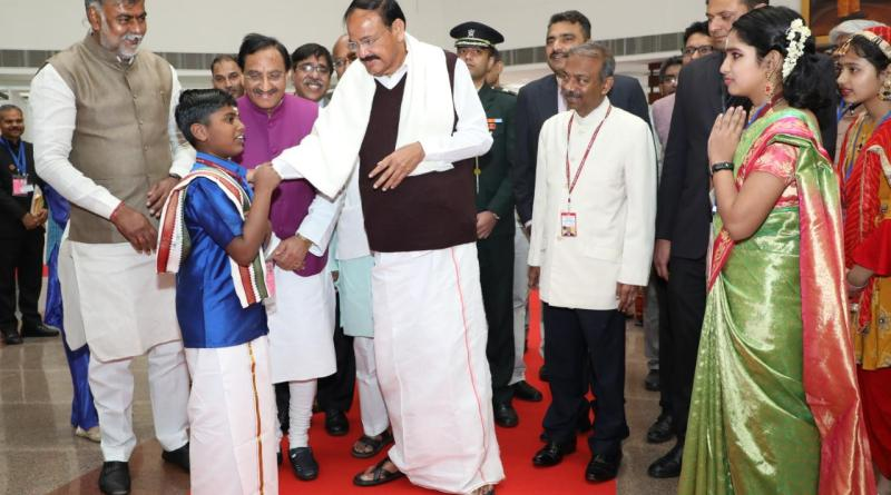 Matribhasha Diwas: VP Naidu, HRD Minister Pokhriyal partake in Mother Language Day event