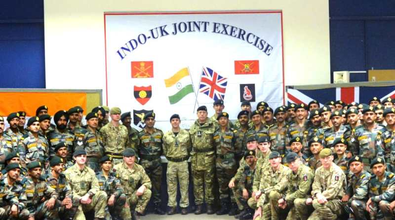 India-UK joint Army Exercise Ajeya Warrior 2020 begins in Salisbury Plains