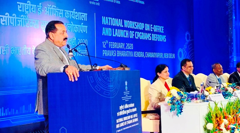 Over 95% public grievances disposed under Modi Govt: Jitendra Singh launches CPGRAMS reforms