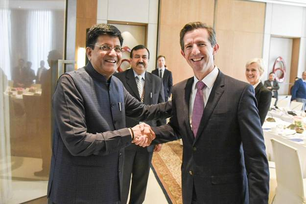 Piyush Goyal talks India-Australia bilateral trade, double taxation, CECA & FTA revival