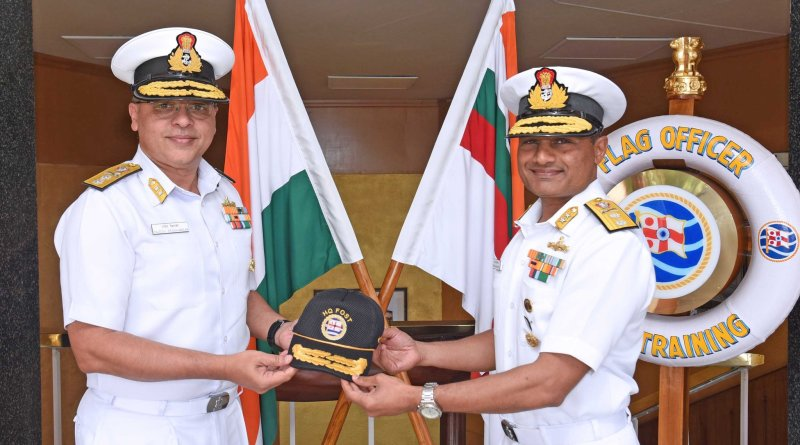 Rear Admiral Rajesh Pendharkar appointed new Flag Officer Sea Training, Indian Navy