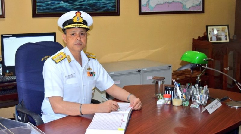 Rear Admiral Sanjay Singh takes over as Commandant, Naval War College, Goa