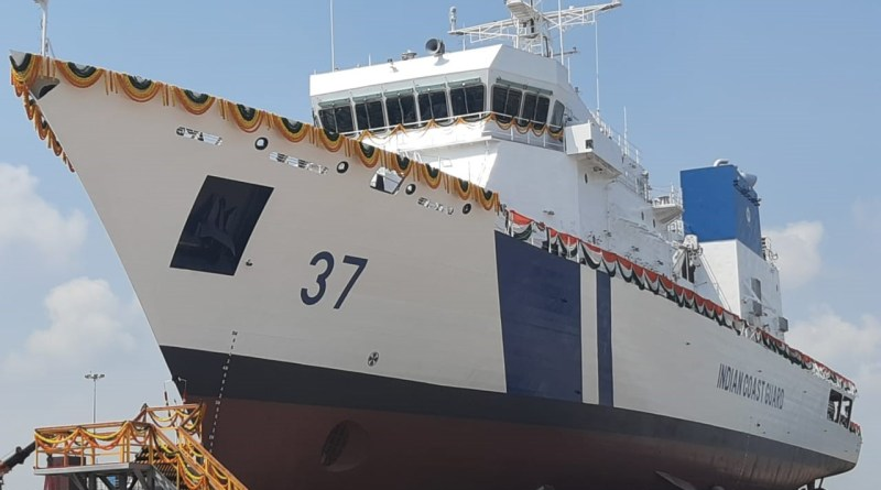 Shipping Minister Mandaviya launches Indian Coast Guard Patrol Vessel 'Vajra'