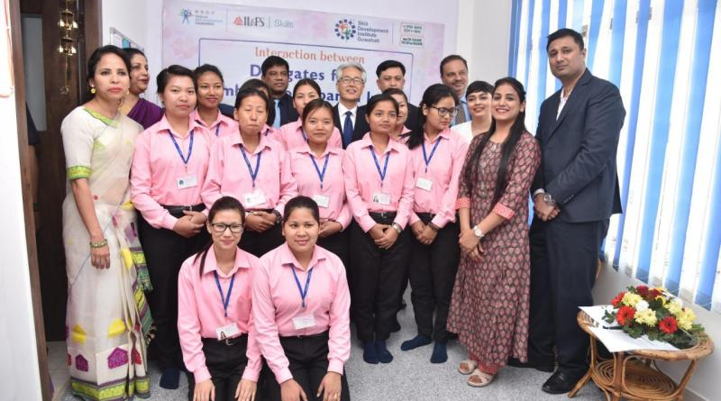 Japanese ambassador visits IL&FS Skills intern training event in North-East