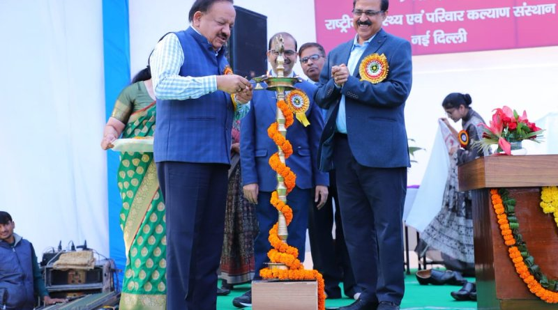 Need synergy between orgs to counter India's public health issues: Harsh Vardhan
