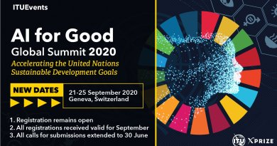 UN & ITU plan 'AI for Good' Summit in Sep 2020 for tech-led solutions to global problems