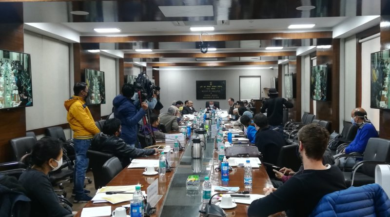 Agri Minister interacts with Foreign Correspondents Club of South Asia