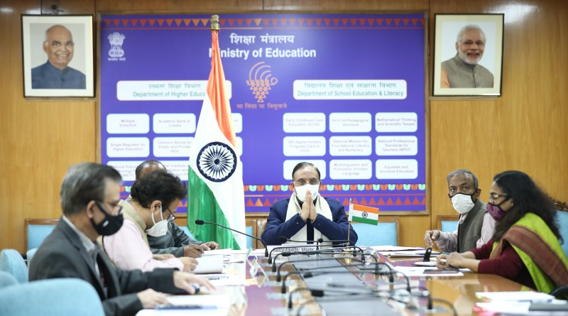 Education Minister Pokhriyalmeets UAE Education Minister | indusdictum