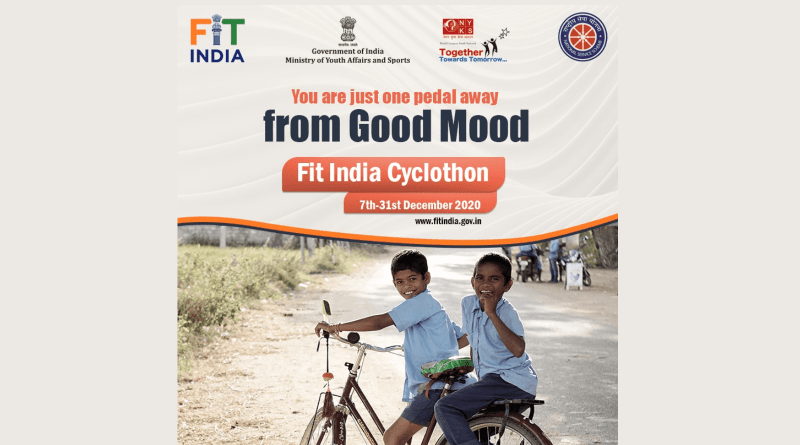 Cycling great way to stay fit, reduce carbon footprint: Sports Minister Rijiju launches Fit India Cyclothon