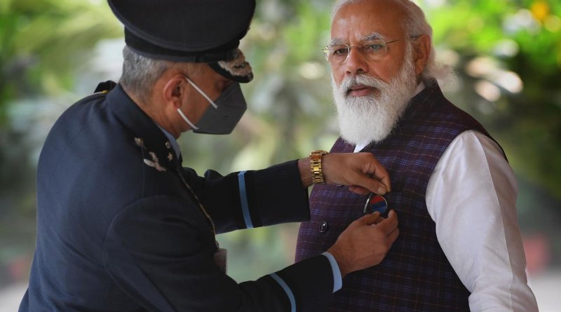 PM Modi on Armed Forces Flag Day | indusdictum | twitter@narendramodi