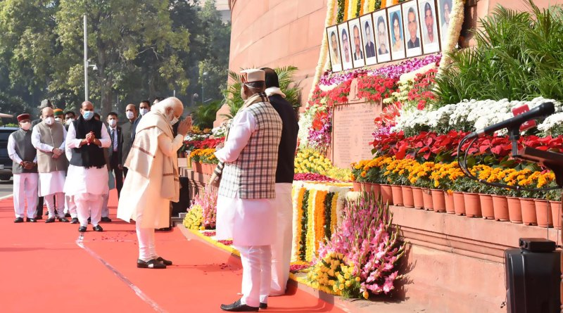 PM pays tribute to martyrs of 2001 Parliament attack | indusdictum
