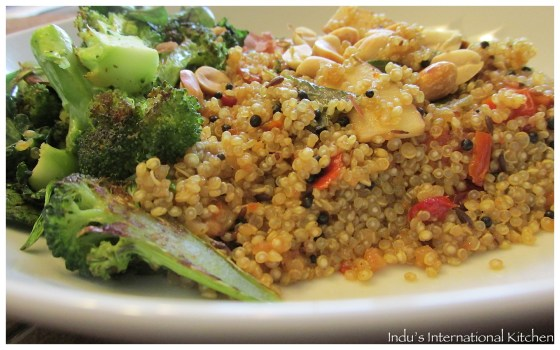 Quinoa Upma (Quinoa South Indian style)