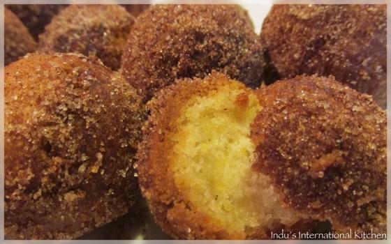 Sinful Cinnamon Pumpkin munchkins(donut holes)