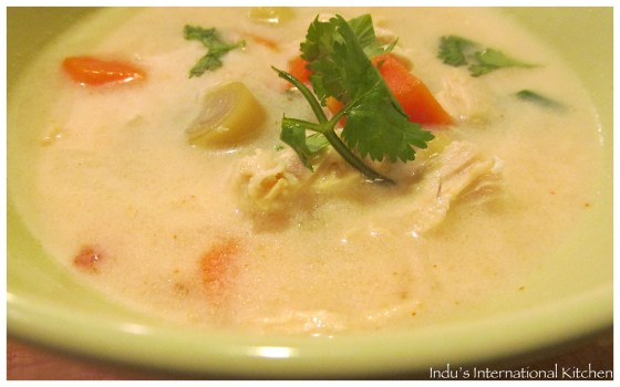 Lemongrass and Chicken soup