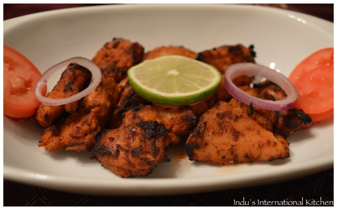 Nepali grilled chicken