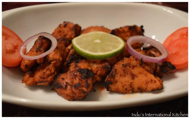 Nepali grilled chicken