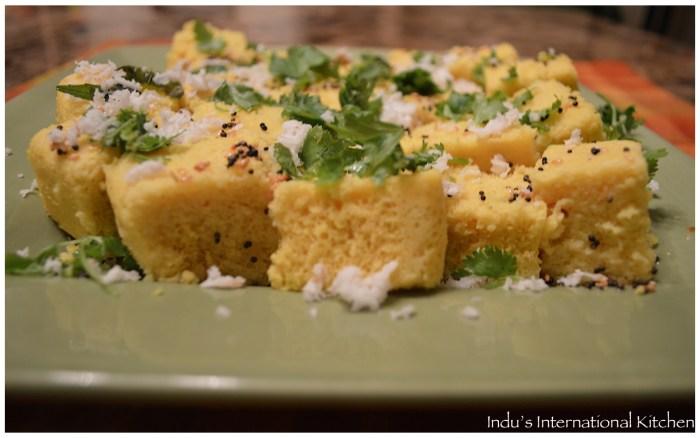 Microwave Khaman Dhokla