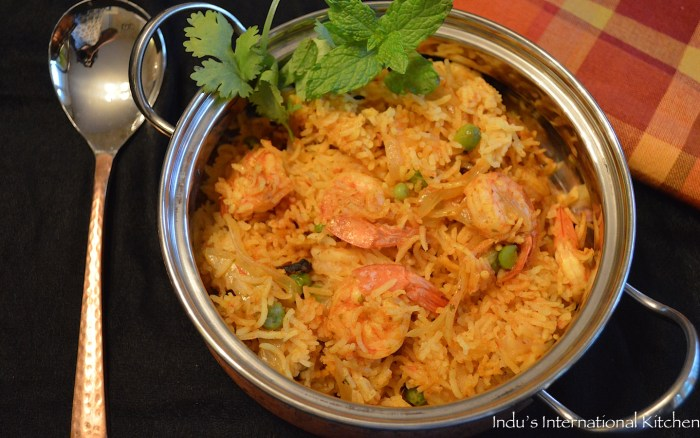 Easy Shrimp Pulao
