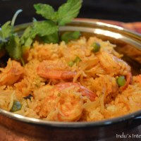 Easy One Pot Shrimp Pulao (Prawn Pulao)
