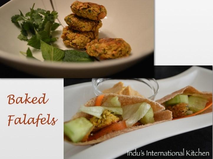 Baked Falafels