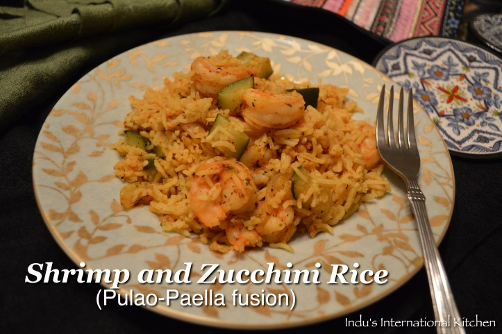 Shrimp and Zucchini rice