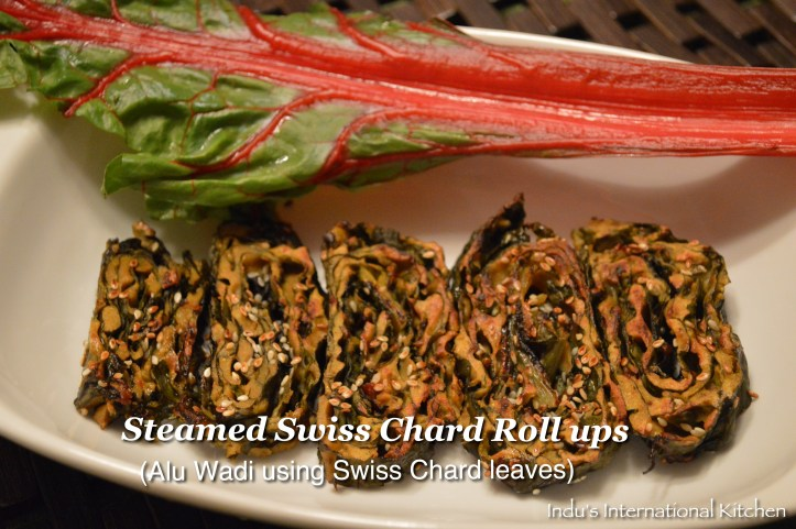Alu wadi using swiss chard leaves