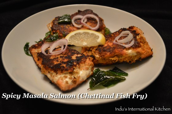 Chettinad Fish Fry