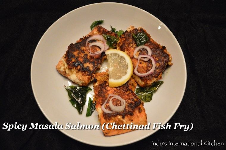 Pan Fried Masala Salmon