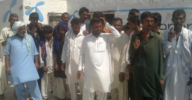 رسول آباد: خانگي اسپتال جي ڊاڪٽر پاران مدي خارج سيون هڻي غلط علاج ڪرڻ خلاف مظاھرو