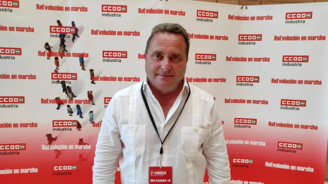 José Hurtado Quirós, nuevo secretario general de la federación de Industria de CCOO de Andalucía