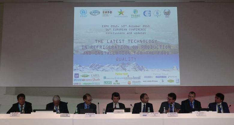 I Presidenti del XVI Convegno Europeo. Da sinistra: Buoni, Cavallini, Masoero, Coulomb, Cavalier, Lavagno, Bennett, Savigliano