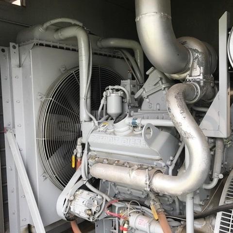 Detroit diesel generator radiator