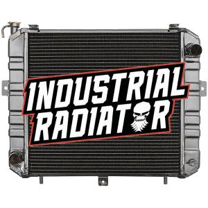 Komatsu Forklift Radiator - 17 5/8 x 17 x 2 1/4
