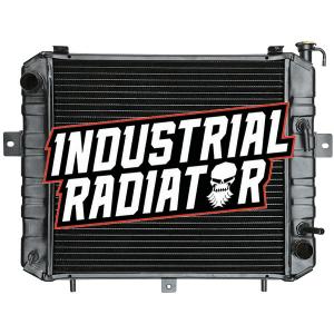 Komatsu/Allis/Kalmar Forklift Radiator - 17 5/8 x 16 3/4 x 2 3/8