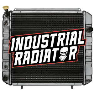 Hyster/Yale Forklift Radiator - 18 7/8 x 19 x 2 3/8 (Square Wave Fin)