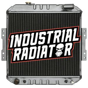 Nissan Forklift Radiator - 16 3/4 x 19 1/4 x 2 3/8
