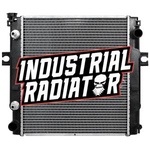 MCFA/Mitsubishi Forklift Radiator - 15 3/4 x 17 5/8 x 1 7/8