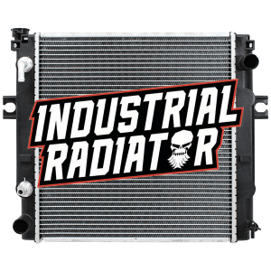 Nissan Forklift Radiator - 16 3/4 x 17 1/2 x 1 7/8